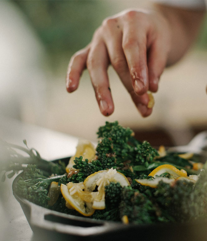ayurveda chef with ayurveda receipe - ASHAexperience
